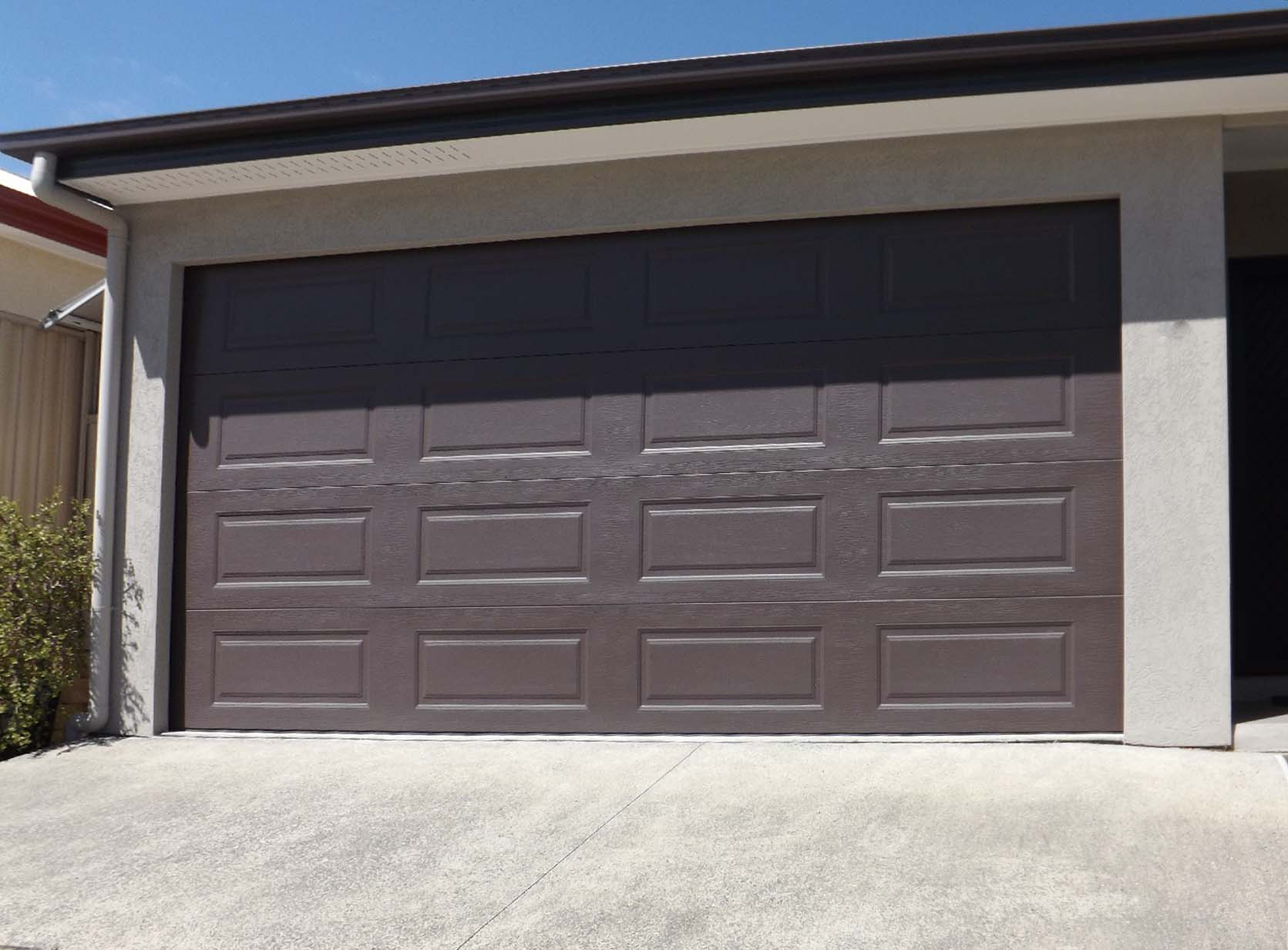 how to take apart a garage door